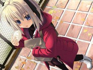 Rating: Safe Score: 22 Tags: blue_eyes boots food ninozen tagme User: Oyashiro-sama