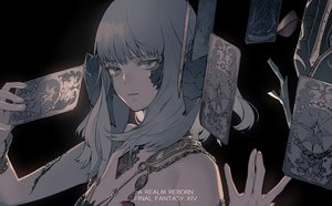Rating: Safe Score: 42 Tags: au_ra dark final_fantasy final_fantasy_xiv gray_eyes gray_hair ukai_saki User: BattlequeenYume