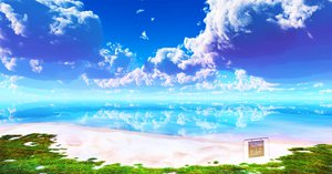 Rating: Safe Score: 142 Tags: 3d beach clouds grass landscape nobody original scenic sky water y-k User: STORM