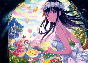 Rating: Safe Score: 124 Tags: alice_in_wonderland alice_(wonderland) animal apple aqua_eyes bird black_hair blonde_hair blue_eyes blush bow breasts building butterfly cake clouds dress drink flowers food frog fruit gloves grass headdress leaves little_red_riding_hood long_hair nishimura_eri no_bra orange_eyes orange_hair original purple_hair rabbit red_riding_hood rose scan short_hair snow_white snow_white_and_the_seven_dwarfs tree User: mattiasc02
