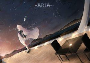 Rating: Safe Score: 30 Tags: dress ia night riannannair sky stars vocaloid User: BattlequeenYume