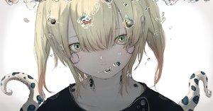 Rating: Safe Score: 36 Tags: blonde_hair bubbles close original short_hair sketch tagme_(artist) tentacles underwater water yellow_eyes User: otaku_emmy