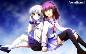 Rating: Safe Score: 40 Tags: angel_beats! nakamura_yuri tachibana_kanade User: pantu