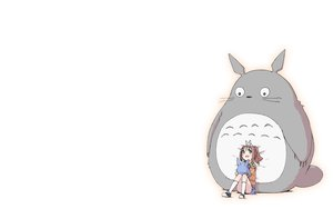 Rating: Safe Score: 43 Tags: brown_hair chika_(orange_pop) crossover ghibli idolmaster long_hair takatsuki_yayoi tonari_no_totoro totoro twintails User: SciFi