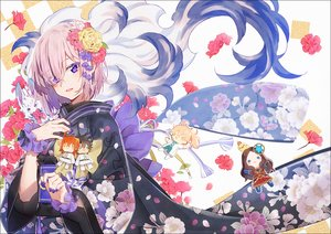 Rating: Safe Score: 43 Tags: doll fate/grand_order fate_(series) flowers fou_(fate/grand_order) fujimaru_ritsuka_(female) fujimaru_ritsuka_(male) hakusai japanese_clothes kimono leonardo_da_vinci_(fate) mash_kyrielight petals pink_hair purple_eyes romani_archaman short_hair User: FormX