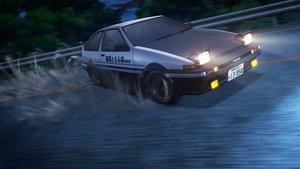 Rating: Safe Score: 73 Tags: 3d car initial_d night nobody tagme_(artist) User: RyuZU