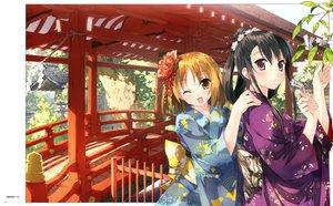 Rating: Safe Score: 50 Tags: blush japanese_clothes kantoku kimono scan tagme tagme_(character) User: Maho