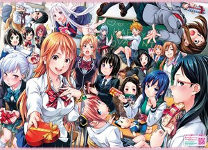 Rating: Safe Score: 159 Tags: amatori_chika aqua_eyes aqua_hair barefoot black_clover black_hair blonde_hair blue_eyes blue_hair boku_no_hero_academia bow breasts brown_eyes brown_hair candy chocolate crossover demon's_plan emma_(yakusoku_no_neverland) flowers gintama glasses gojou_reina green_eyes group haikyuu!! hanamori_makoto hat hinomaru_zumou hino_yayoi ibitsu_no_amalgam isobe_isobee isobe_isobee_monogatari kagura_(gintama) kamado_nezuko kimetsu_no_yaiba long_hair nakiri_erina nami nanakura_jun naruto noelle_silva ole_golazo one_piece pantyhose pink_eyes red_hair saeki_shun saiki_kusuo_no_psi-nan salvia_(demon's_plan) samon-kun_wa_summoner school_uniform seishun_heiki_no._1 sesuji_wo_pin!_to shimizu_kiyoko shokugeki_no_souma short_hair skirt teruhashi_kokomi teshigawara_sakura tie twintails uchiha_sarada uraraka_ochako valentine watari_eri world_trigger yakusoku_no_neverland yunohana_yuuna yuragi-sou_no_yuuna-san User: RyuZU