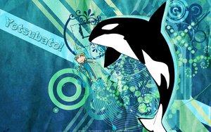 Rating: Safe Score: 15 Tags: koiwai_yotsuba shikki watermark yotsubato! User: Jeffusz