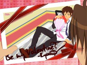 Rating: Safe Score: 17 Tags: all_male koizumi_itsuki kyon male suzumiya_haruhi_no_yuutsu valentine User: pantu