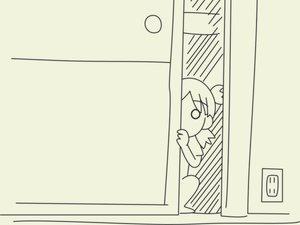 Rating: Safe Score: 10 Tags: koiwai_yotsuba monochrome yotsubato! User: Oyashiro-sama