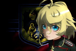 Rating: Safe Score: 22 Tags: aqua_eyes blonde_hair close cross genya67 military short_hair tanya_degurechaff uniform youjo_senki User: RyuZU