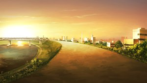 Rating: Safe Score: 159 Tags: game_cg landscape scenic sky sunset your_diary User: Wiresetc