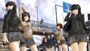 Rating: Safe Score: 87 Tags: amagami ayatsuji_tsukasa kamizaki_risa morishima_haruka nakata_sae nanasaki_ai sakurai_rihoko school_uniform sinzire snow tachibana_miya tanamachi_kaoru User: FormX