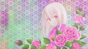 Rating: Safe Score: 28 Tags: fate/kaleid_liner_prisma_illya fate_(series) flowers illyasviel_von_einzbern rose white_hair User: MisakaImouto