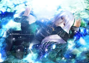 Rating: Safe Score: 20 Tags: long_hair purple_eyes tagme white_hair User: SciFi