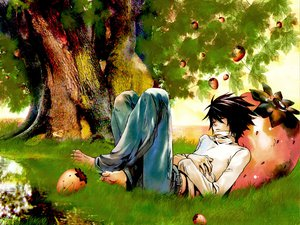 Rating: Safe Score: 23 Tags: all_male death_note l male User: haru3173