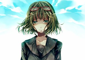 Rating: Safe Score: 34 Tags: crying glasses gumi vocaloid yowamushi_montblanc_(vocaloid) User: HawthorneKitty