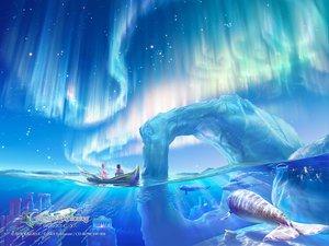 Rating: Safe Score: 53 Tags: animal boat celestial_exploring fish kagaya scenic sky stars User: Oyashiro-sama