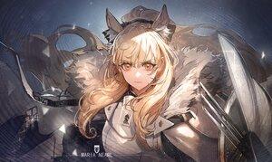 Rating: Safe Score: 36 Tags: animal_ears arknights armor blemishine_(arknights) ryuuzaki_ichi User: ssagwp