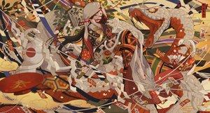 Rating: Safe Score: 44 Tags: animal bell black_hair flute hoodie instrument japanese_clothes kimono long_hair nanahara_shie ofuda original snake socks waifu2x User: BattlequeenYume