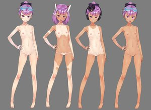 Rating: Explicit Score: 88 Tags: barefoot blush breasts dark_skin fate/grand_order fate_(series) flat_chest goggles hat headphones helena_blavatsky_(fate) navel nipples nude purple_eyes purple_hair pussy short_hair sunglasses tagme_(artist) tan_lines transparent uncensored User: BattlequeenYume
