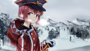 Rating: Safe Score: 52 Tags: anthropomorphism gloves hat hoodie kantai_collection red_eyes red_hair ruisento short_hair snow z3_max_schultz_(kancolle) User: Flandre93