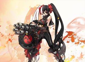 Rating: Safe Score: 158 Tags: blade_&_soul eyepatch gun long_hair nyoronyoro po_hwa_ran twintails weapon User: Flandre93