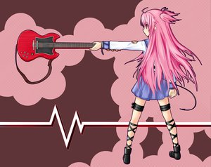 Rating: Safe Score: 71 Tags: angel_beats! guitar instrument masiroke seifuku skirt tail yui_(angel_beats!) User: HawthorneKitty