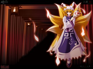 Rating: Safe Score: 15 Tags: side_b touhou yakumo_ran User: Eruku