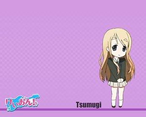 Rating: Safe Score: 8 Tags: blonde_hair blue_eyes chibi k-on! kotobuki_tsumugi logo long_hair purple school_uniform User: HawthorneKitty