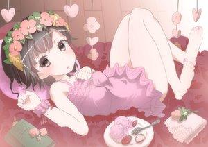 Rating: Safe Score: 39 Tags: flowers food rou+ to_aru_kagaku_no_railgun to_aru_majutsu_no_index uiharu_kazari User: Freenight