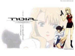 Rating: Safe Score: 3 Tags: gun mireille_bouquet noir weapon yuumura_kirika User: Oyashiro-sama