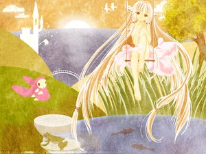 Rating: Safe Score: 8 Tags: atashi chii chobits clamp User: Oyashiro-sama