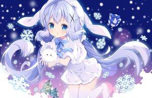 Rating: Safe Score: 32 Tags: aliasing dress gochuumon_wa_usagi_desu_ka? kafuu_chino loli long_hair snow thighhighs tippy_(gochiusa) tsukimi_(xiaohuasan) winter User: BattlequeenYume