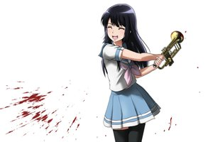 Rating: Safe Score: 28 Tags: black_hair blood genya67 hibike!_euphonium instrument kousaka_reina long_hair seifuku skirt thighhighs white User: RyuZU
