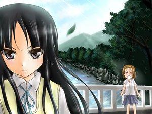 Rating: Safe Score: 22 Tags: akiyama_mio k-on! tainaka_ritsu User: HawthorneKitty
