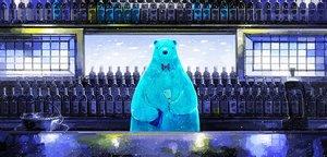 Rating: Safe Score: 95 Tags: animal bear drink nomiya_(no_38) original User: mattiasc02
