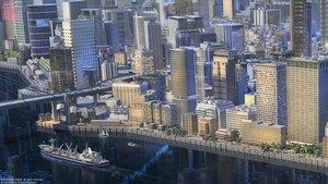 Rating: Safe Score: 68 Tags: 3d arsenixc boat building city logo reflection scenic shining_nikki water watermark User: otaku_emmy