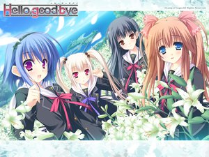 Rating: Safe Score: 12 Tags: flowers group hello_good-bye hiiragi_koharu moekibara_fumitake rindou_natsume saotome_suguri seifuku yukishiro_may User: oranganeh