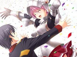 Rating: Safe Score: 29 Tags: armor game_cg kisaki_mio komori_kei male mizuno_takahiro ricotta walkure_romanze User: Maboroshi