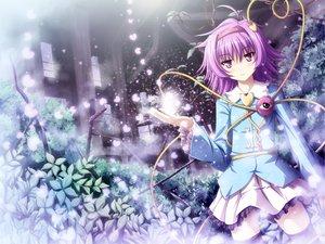 Rating: Safe Score: 66 Tags: akashio_(loli_ace) blush komeiji_satori purple_hair short_hair skirt thighhighs touhou User: Tensa