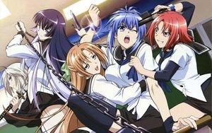 Rating: Safe Score: 71 Tags: genderswap gun kampfer kondou_mikoto mishima_akane sakura_kaede sangou_shizuku school_uniform senou_natsuru weapon User: pantu