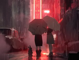 Rating: Safe Score: 144 Tags: animal boots building car city cropped original polychromatic rabbit rain skirt snatti umbrella water User: mattiasc02