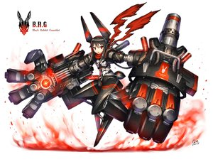 Rating: Safe Score: 146 Tags: black_hair gia original red_eyes short_hair weapon User: SciFi