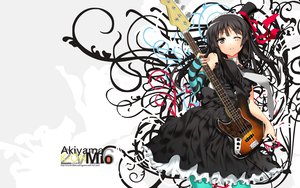 Rating: Safe Score: 92 Tags: akiyama_mio ch@r guitar instrument k-on! User: pantu
