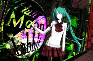 Rating: Safe Score: 39 Tags: bow hatsune_miku mujun_(zipper) skirt vocaloid User: MissBMoon