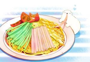 Rating: Safe Score: 24 Tags: animal bear chai_(artist) food heart original signed User: otaku_emmy