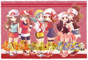 Rating: Safe Score: 43 Tags: crystal haruka_(pokemon) hat hikari_(pokemon) kotone_(pokemon) leaf_(pokemon) pokemon touko_(pokemon) User: HawthorneKitty