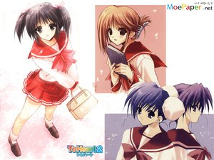 Rating: Safe Score: 6 Tags: aquaplus himeyuri_ruri himeyuri_sango komaki_manaka leaf suzuhira_hiro to_heart to_heart_2 yuzuhara_konomi User: Oyashiro-sama